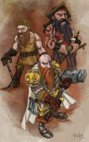 Dwarves by ricktroula