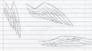 Wing Sketches by ChugiMoto