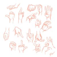 Doodle 8 - Hands by WooleyWorldHQ
