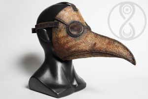Scarecrow plague doctor mask by LahmatTea