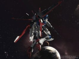FORCE IMPULSE GUNDAM CG06 by Ladav01