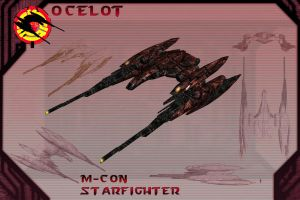 Ocelot Starfighter by samurairyu
