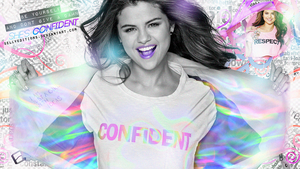 +Confident/Wallpaper by SellyEditions