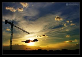 clouds fishing II by adypetrisor