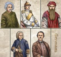 Historia DA collection - Germans by Lythilien