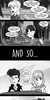 Pacififica Meets Dipper pt. 1 by Ikran