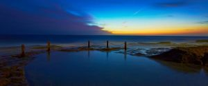 First Light - Ivo Rowe Pool by MarkLucey