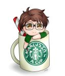Marcus in a cup literally inside a cup (o3o) by KendlesCreations