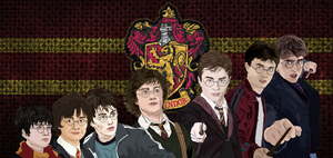 Harry Potter Years 1-7 by Applescruffgirl