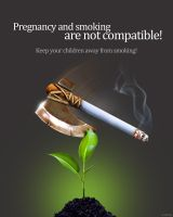 social non smoking AD by ult1mate