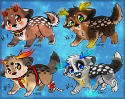Deer Puppy adoption *CLOSED* by sister-adopts