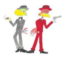 Gangster Jose and Panchito by JDE10