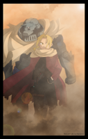 FMA Chapter 32 COVER by haosama