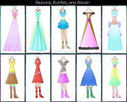 .:Fashion Designs Set 1:. by Alyssa921