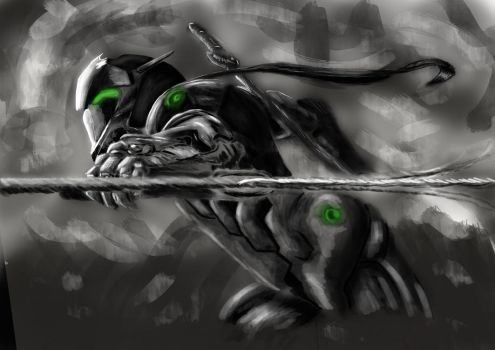 Dark Genji [Original Speedpaint] by Reipher