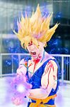 Goku ssj2...the power of Kamehameha! by Alexcloudsquall
