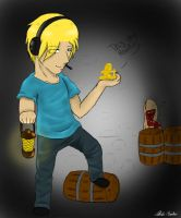 pewdie and stephano by chibi-raiden