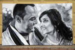 Wedding Portrait by MihirMalavia