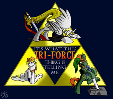 It's What This Tri-Force Thing Is Telling Me by Rattlesire