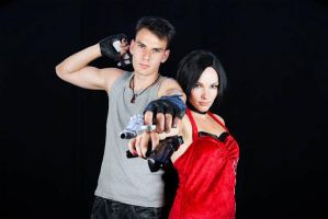Ada Wong and Dante I by StephanyHardy
