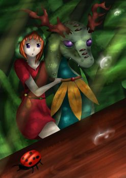 Small World. by l3lue-Kat