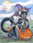 Hallow Kitty by lady-cybercat