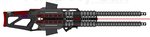 D.I.I. M.T.G.C.-R. 'Shock-Lance' Twin Gauss Cannon by Lord-DracoDraconis