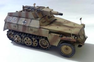 SDKFZ 250/8 by jarscarved