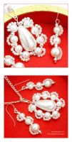 White Pearls - wedding KIT by AnnAntonina