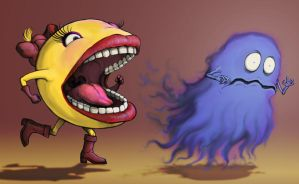 Ms. Pac Man by MeteoDesigns