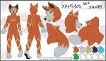 Xanthos Full Body Colour and Pattern Referenece by Indefinitefotography