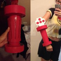 Cammy White cosplay - Bracelets WIP by JudyHelsing