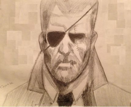 Big Boss MGS4 by cblink22
