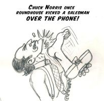 A Chuck Norris Fact by Gpapanto