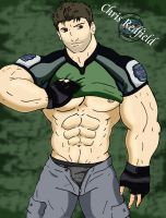 Chris Redfield GONE WILD by redfield37