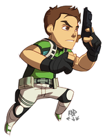 redfield by samuraiblack