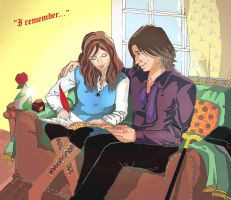 Rumbelle - Saving memories by Celwen85