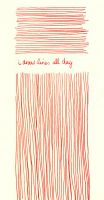 i draw lines all day by ColaCherry
