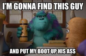 Sulley meme by thearist2013