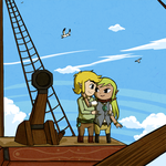 TeLink: Love on Deck by Icy-Snowflakes