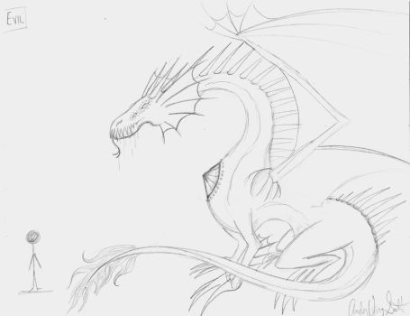 Dragon Species Sketch 2 by Amber-01