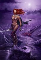 Red Sonja by luishenrique1964