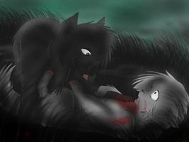 Only Surrender Will Help You Now --Speedpaint-- by Amerikat