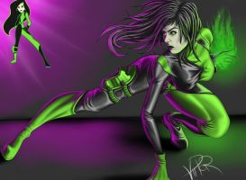 Shego by ViiPerArt
