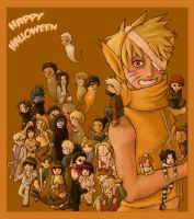 Naruto Halloween by soltian