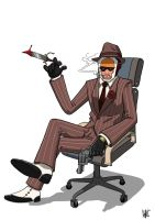 Spy Load-out (ZeroSune commission) by NHMorrissey