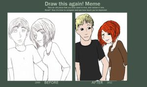 Draw This Again Meme by Samara3D