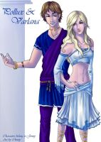 Pollux and Varlana by Oniwolf12