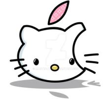 Hello Kitty - Mac icon by 3dera