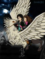Buckbeak's Flight by gwendy85